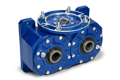 VM series - Double output worm Industrial gearbox